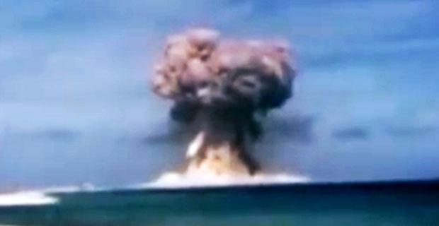 Test nuklearny na Wyspach Marshalla