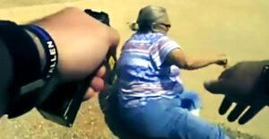 Aresztowanie kobiety