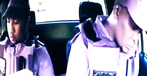 Błyskawiczne rozstrzelanie dwóch ochroniarzy, siedzących w aucie