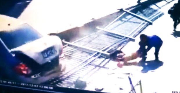 Kobieta natychmiastowo zabita przez metalowy płot