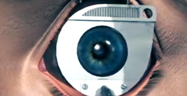 Zabieg laserowej korekcji wzroku - animacja
